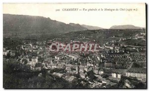 Chambery - Vue Generale and Mountain Cat 1472 m Old Postcard