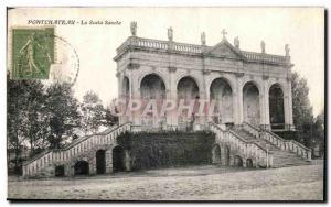 Old Postcard Pontchateau La Scala Sancta