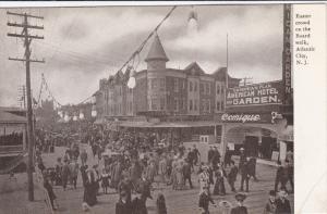 Easter Crowd on the Boardwalk , ATLANTIC CITY , New Jersey , Pre-1907
