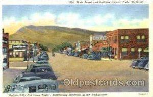 Main Street & Business District Cody, WY, USA Unused