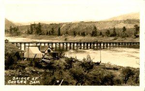 WA - Bridge at Coulee Dam, 1935.  *RPPC