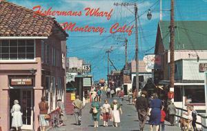 Fisherman´s Wharf , MONTEREY , California , 1960s #3