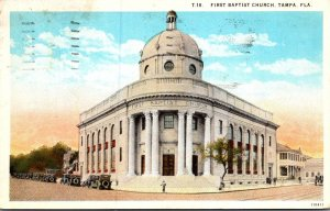 Florida Tampa The First Baptist Church 1931 Curteich