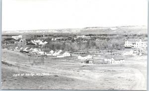Havre, Montana RPPC Postcard Bird's-Eye Town Panorama View Nixon Photo Unused