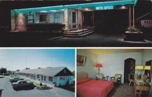 3-views,  Davis Motel, Hwy 2 on the St. Lawrence River, Brockville, Toronto, ...