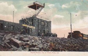 Signal Station, Top of Pike´s Peak, Colorado, PU-1907