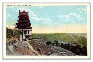 18647  PA  Reading pagoda on Mt. Penn