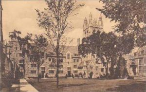 Connecticut New Haven Branford Court Looking Toward Graham Tower Yale Univers...