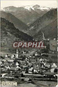 Postcard Modern Vallee Munster (ht Rhin) Metzeral and Rotenbachkopf