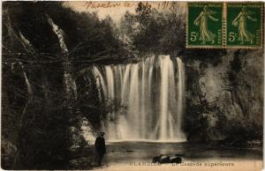 CPA GLANDIEU La Cascade Superieure (485606)