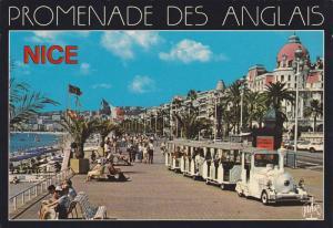 La Promenade Des Anglais, Miniature Train, Nice (Alpes Maritimes), France, 19...