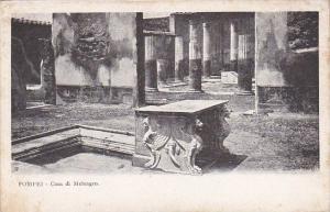Italy Pompei Casa di Meleagro