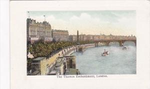 England London The Thames Embankment
