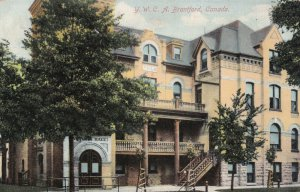 BRANTFORD, Ontario, Canada, PU-1910; Y.W.C.A.