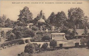 New Jersey Convent Station Our Lady Of Fatima College Of St Elizabeth Artvue
