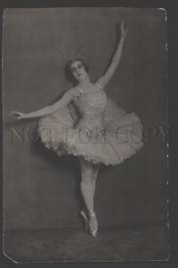 109681 ARKHIPOVA Russian BALLET Star DANCER Vintage PHOTO