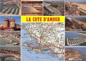 BF40930 la cote d amour  france  map cartes geographiques