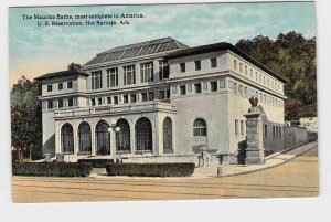 PPC POSTCARD ARKANSAS HOT SPRINGS U.S. RESERVATION THE MAURICE BATHS MOST COMPLE
