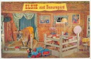 ELSE & Beauregard the cows, Borden Milk Company 1950s