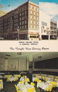 SALT LAKE CITY, Utah, 40-60s; Temple Square Hotel, Parking Terrace, Coffee Shop
