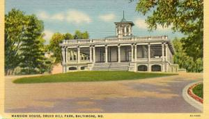 MD - Baltimore, Druid Hill Park, Mansion