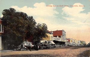Concordia Kansas~East on Sixth Street~Daily Blade Newspaper Office~Hardware~1910