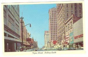 Tryon Street, Looking South, Charlotte,  North Carolina, 40-60s