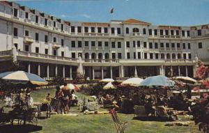 A scene from Hotel Polana swimming pool, 40-60s