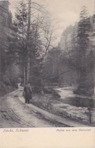 Partie Aus Dem Polenztal, Sachs. Schweiz, Switzerland, 1900-1910s