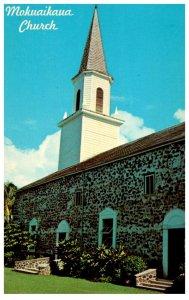 Hawaii  Kona Moruaikaua Church
