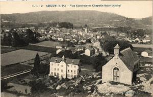 CPA Arudy - Vue generale et Chapelle Saint-Michel (365275)