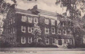 Maine Orono Merrill Hall University Of Maine Albertype