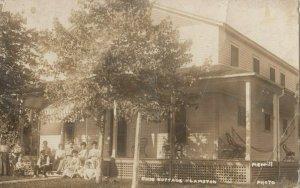 RP: ST. LOUIS , Missouri , 1909 ; Ohio Cottage , Lambton