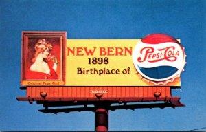 North Carolina New Bern Pepsi Cola Billboard
