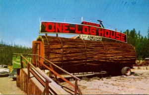 California Redwood Highway Tree House Park World Famous One Log H...