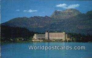 Canadian Rockies Canada, du Canada CPR Chateau Lake Louise  CPR Chateau Lake ...