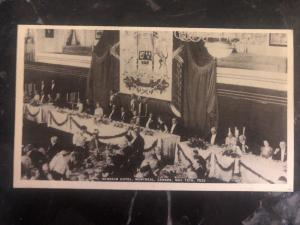Mint Canada RPPC Postcard Windsor Hotel Banquet In Honor Of King George VI