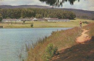 Troutbeck Inn Rhodesia from Trout Lake Rare Postcard