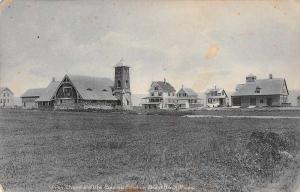 Brant Rock Massachusetts Union Chapel Life Saving Station Postcard J59889