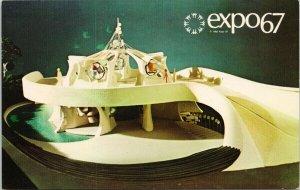 Expo 67 Montreal Quebec Polymer Pavillion Postcard F17