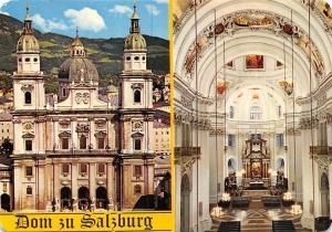 Dom zu Salzburg The Cathedral Interior view La Cattedrale