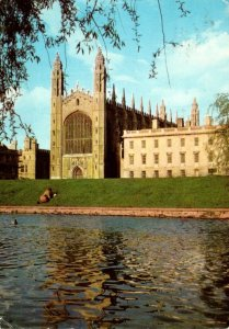England Cambridge King's College Chapel and Gibb's Building 1975