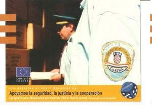 Postal 047745 : EuropeAid.apoyamos la seguridad la justicia y la cooperacion