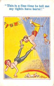 Acrobats Trapeze Artist Mike 1947