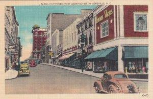 ASHEVILLE , NC, 1930-40s; Haywood Street