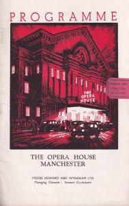 Chuckeyhead Story Manchester Opera House Theatre Programme