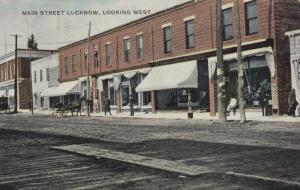 LUCKNOW , Ontario , 1909 : Main Street