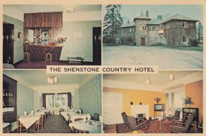 The Shenstone Country Hotel Kendal Cumbria 1970s Advertising Postcard Card