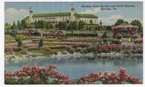 Hershey, Pa, Hershey Rose Garden and Hotel Hershey