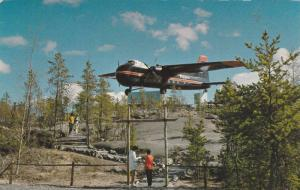 Bristol Monument , Yellowknife Airport , Yellowknife , N.W.T., Canada , 40-50s